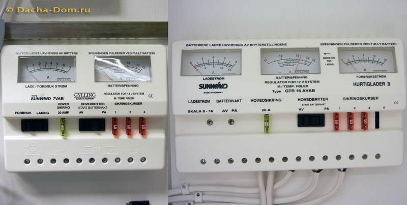 Контроллер солнечных батарей
