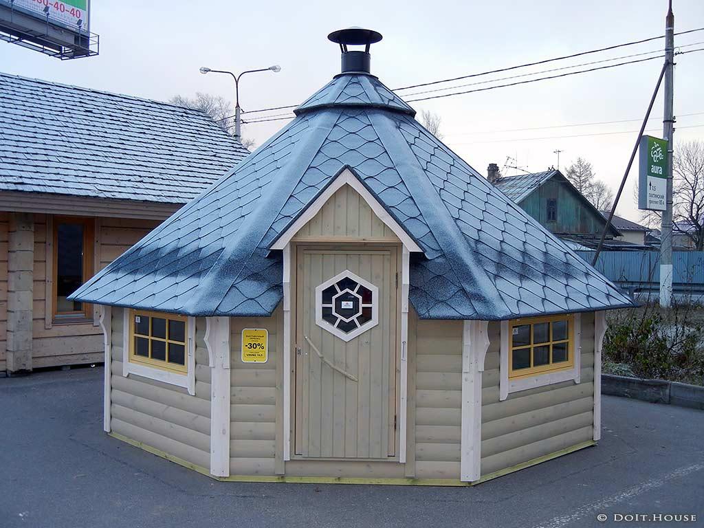 Финский гриль домик видео