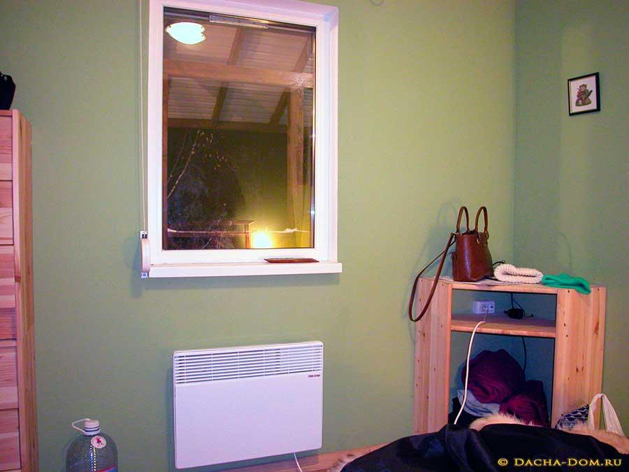 Отопление своего дома электрическими конвекторами