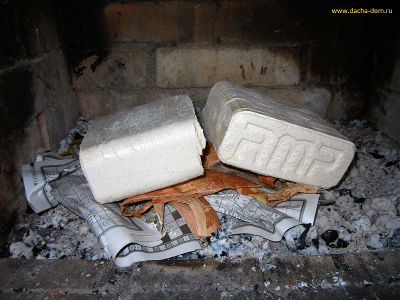 Как сделать топливный брикет фото 460