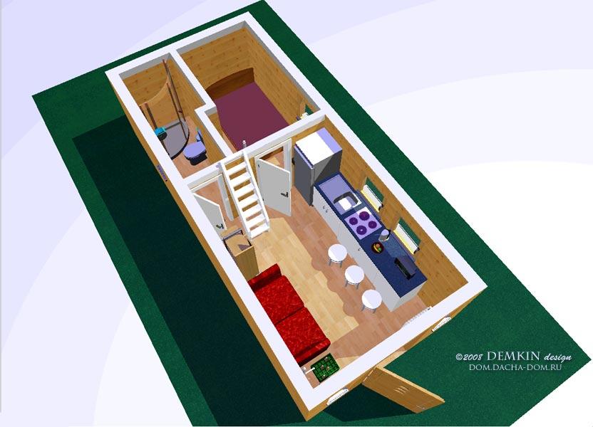 Готовые дизайны интерьеров