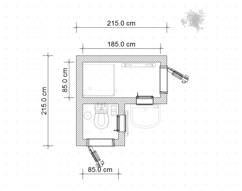 проект совсем маленького дома