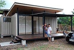 дом из контейнера