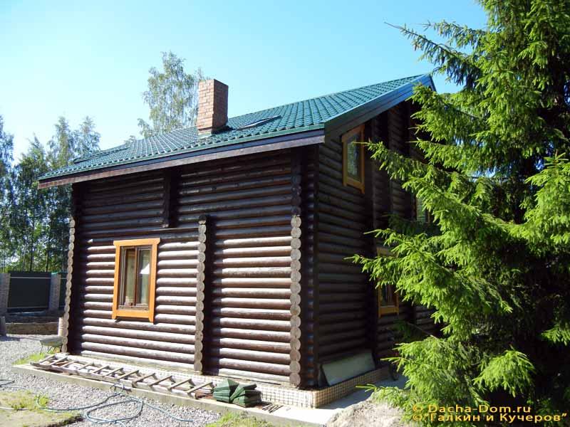 Дачный дом в Туле Каркасно-щитовой