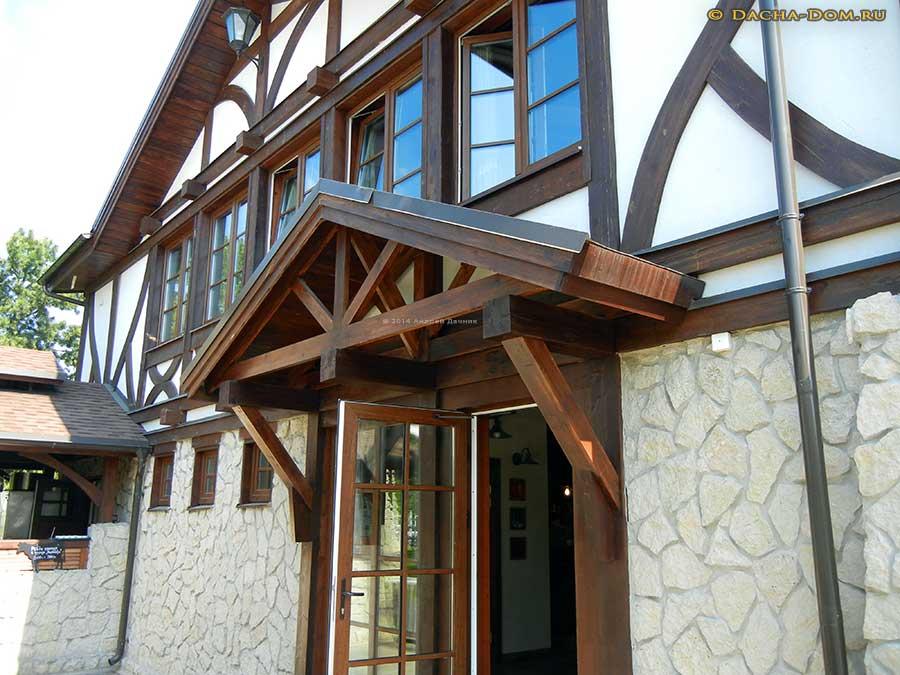 Дом в немецком стиле фахверк своими руками 50