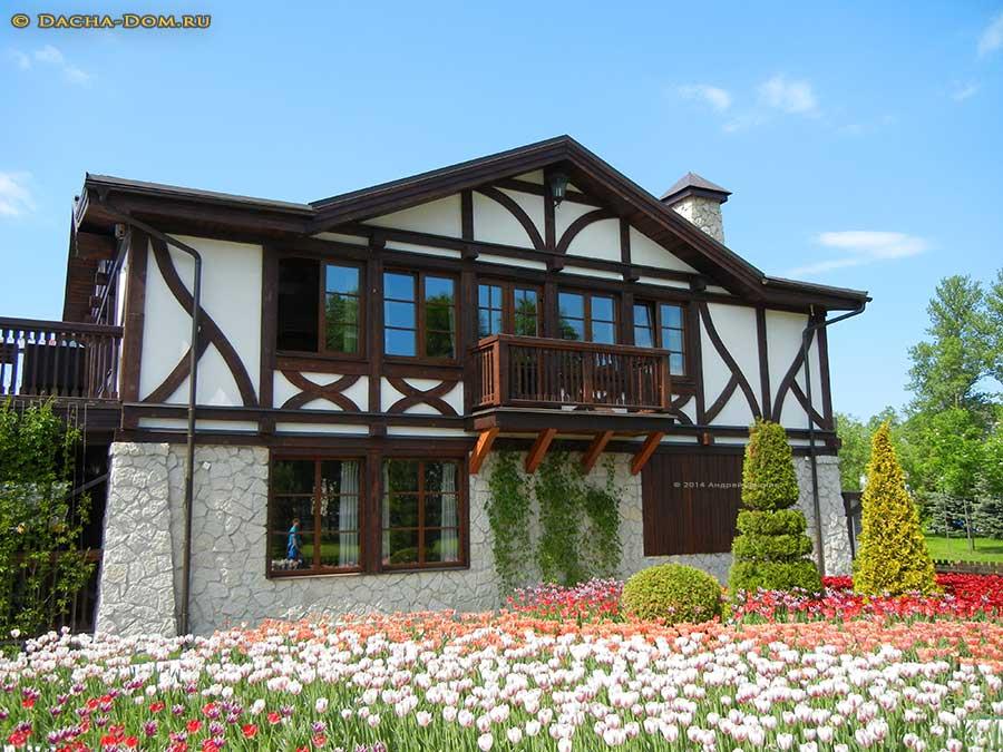 Дом в немецком стиле фахверк своими руками 61