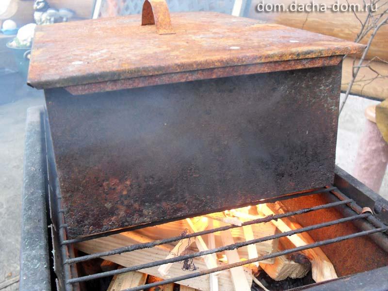 Копчение рыбы на барбекю камин электрический malta real-flame с очагом
