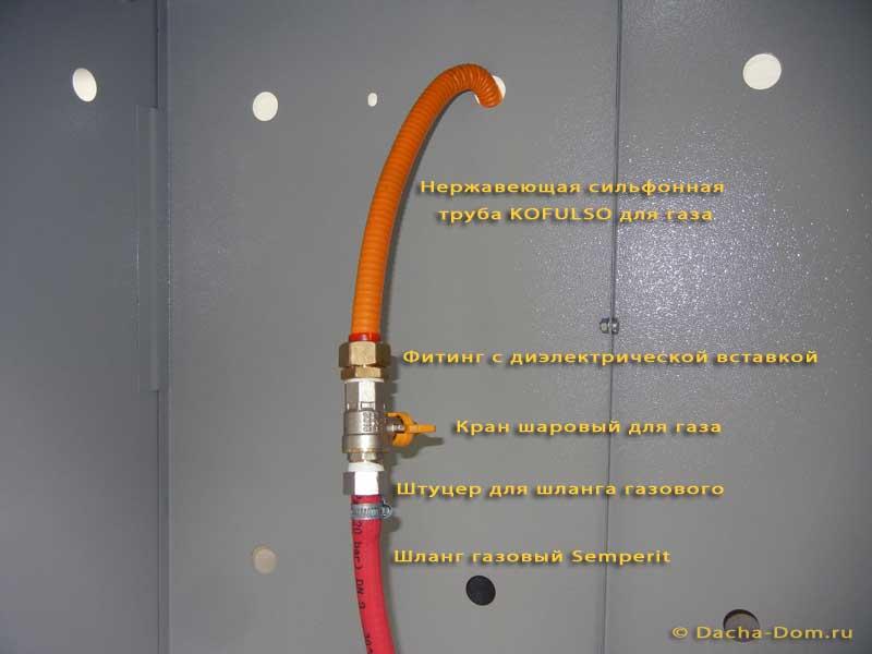 Как самому заменить газовый шланг