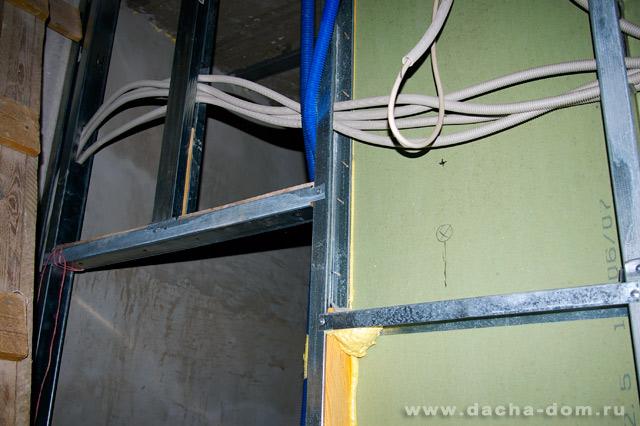 Электропроводка своими руками под гипсокартоном