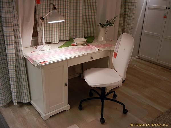 офисная мебель икеа для дома и офиса