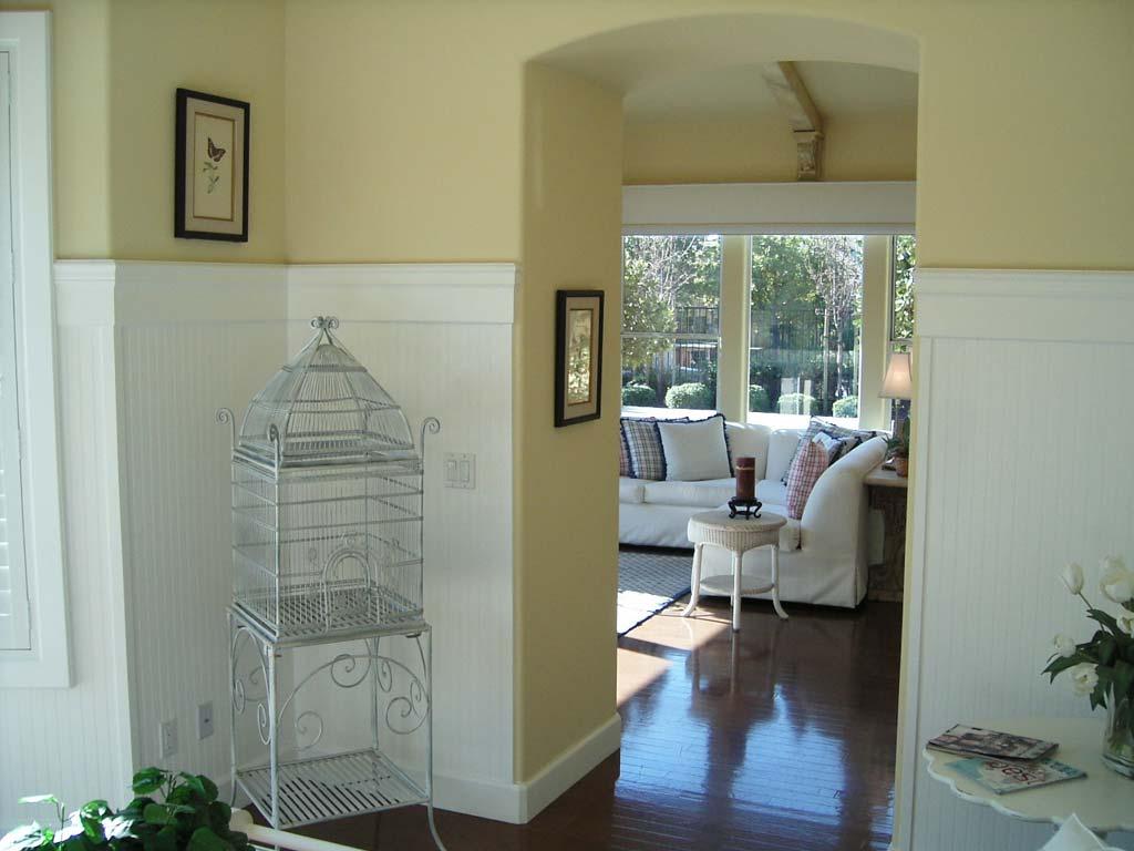 Интерьер внутри дома