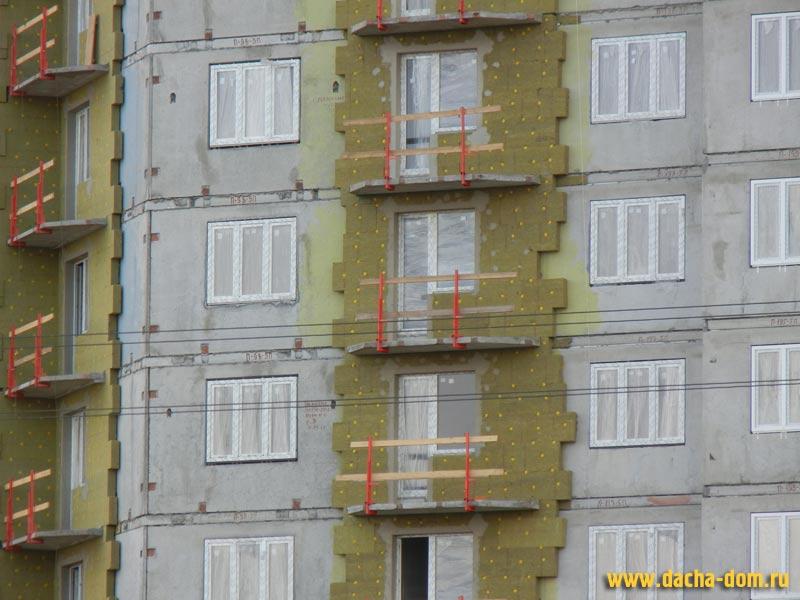 Утепление фасадов под штукатурку видео