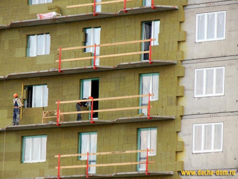 Утепление фасадом домов под ключ