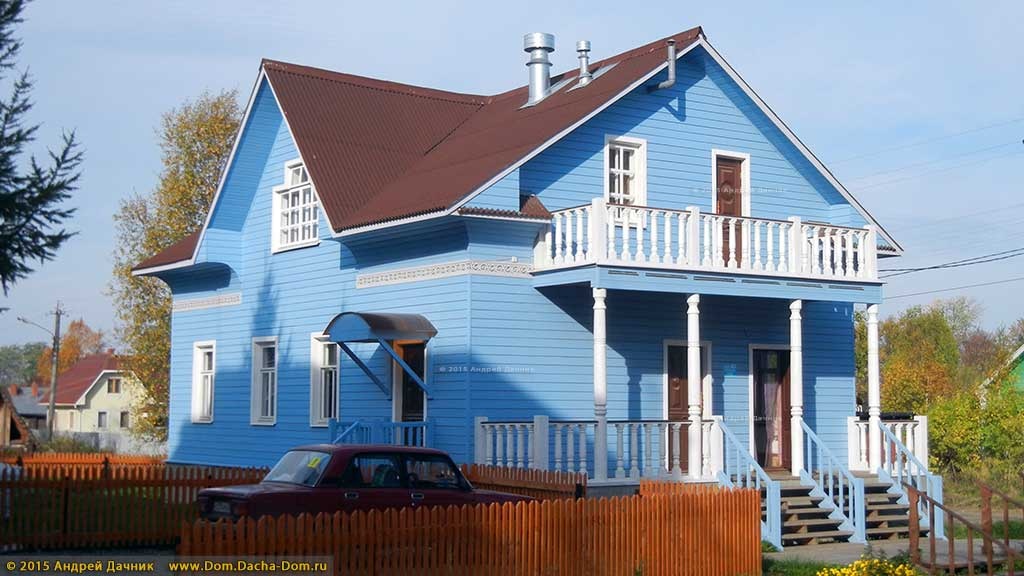 Стиль русской избы - Как построить дом