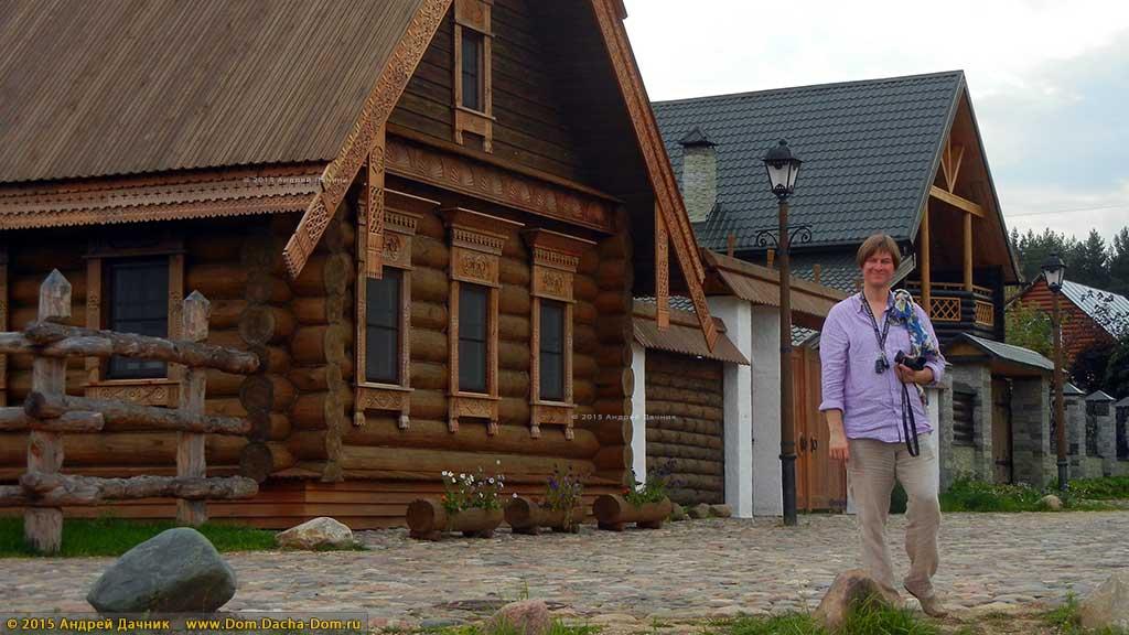 русская изба фото