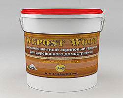 герметик для дерева wepost wood