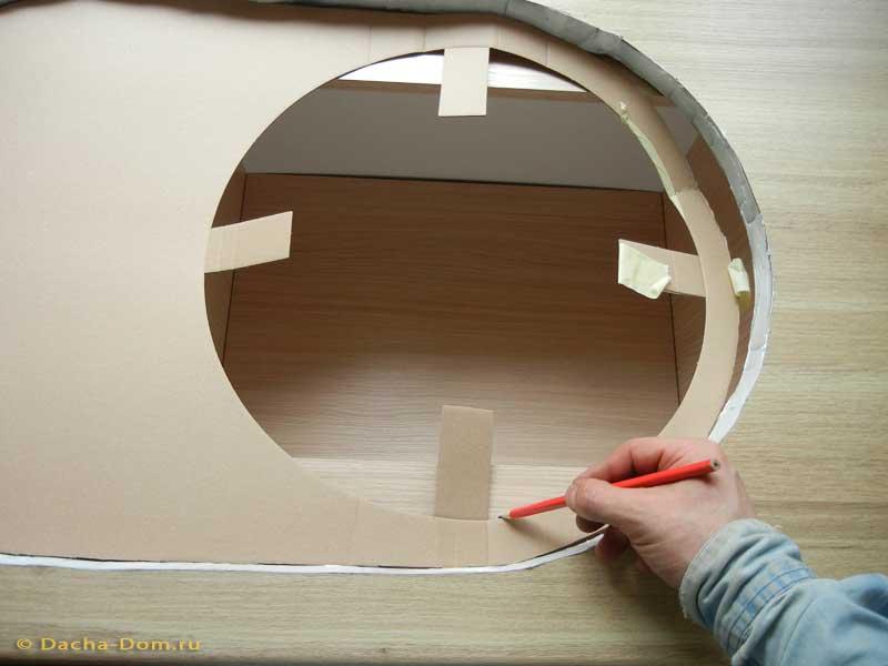 Установка круглой мойки в столешницу своими руками - Компания Экоглоб