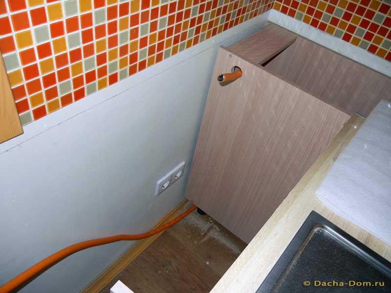Укоротить газовую трубу на кухне своими руками