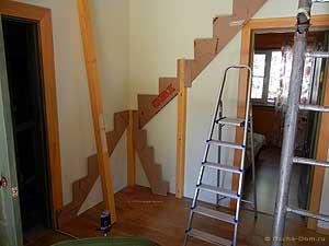 картонные шаблоны для лестницы