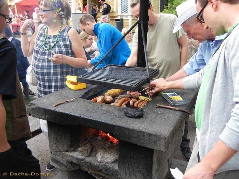 Финский мангал барбекю своими руками 90