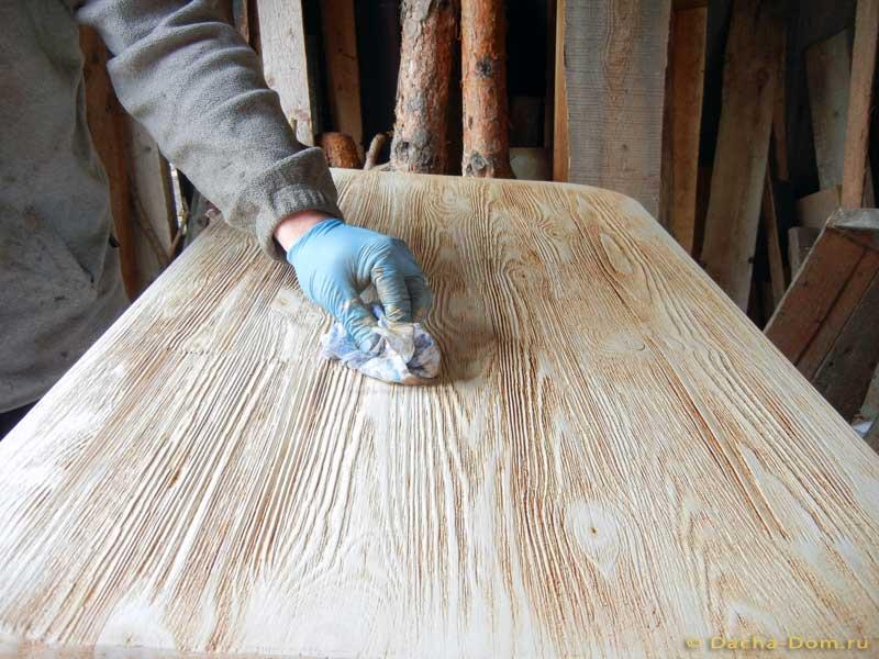 Как состарить древесину своими руками 567