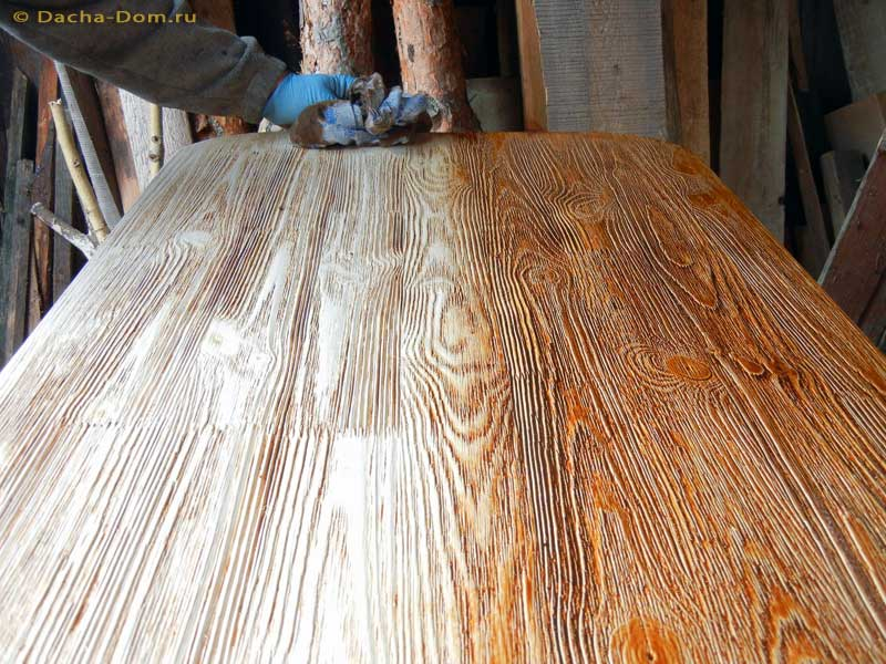 Как состарить древесину своими руками 439