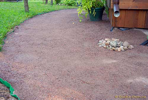 garden sand pathways