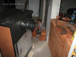 печь для дачи - печь камин