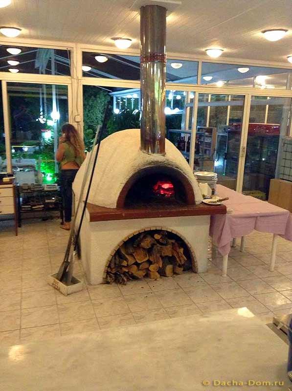 Печь своими руками для пиццы