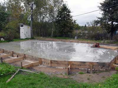 Фундамент дома своими руками плита 11