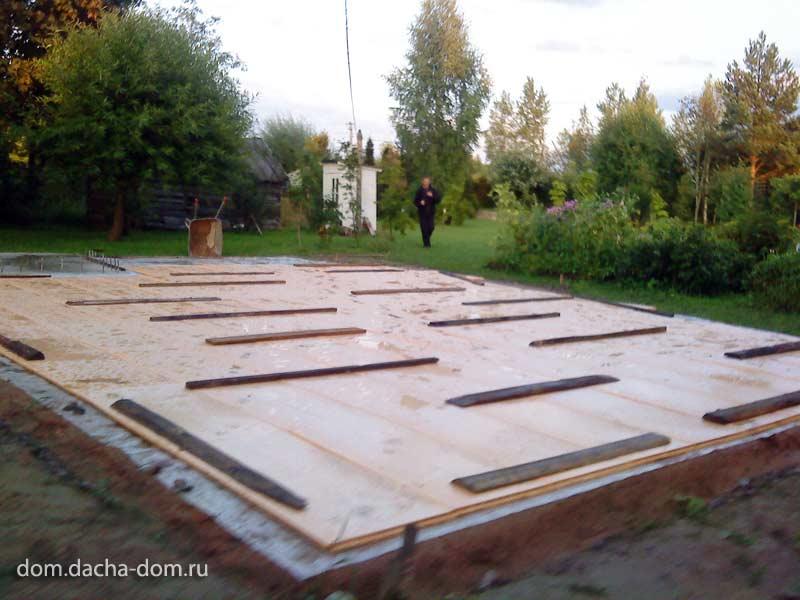 Concrete Slab Foundation : Floating concrete slab foundation
