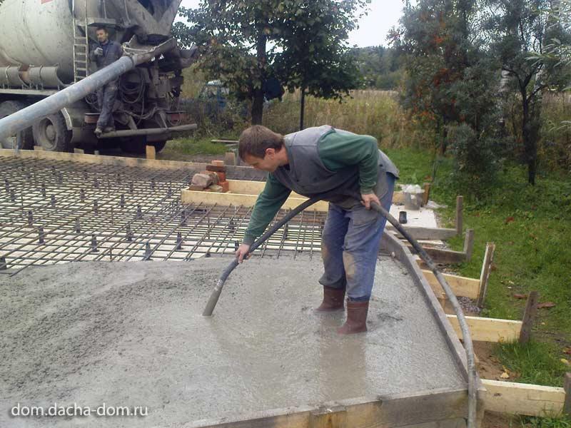 как сделать качественный бетон своими руками видео