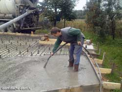 floating concrete slab foundation