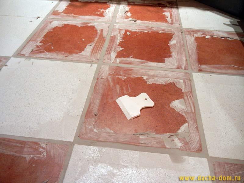 Затирка швов плитки напольной своими руками 641