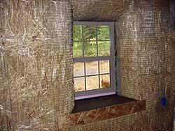 стена из соломы