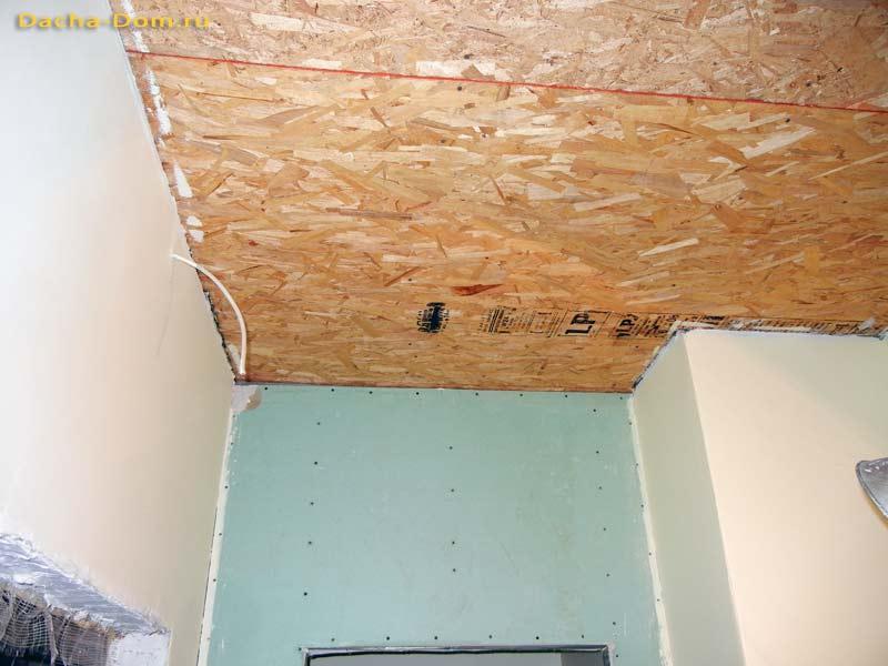 Из чего сделать потолок на даче своими руками фото 14