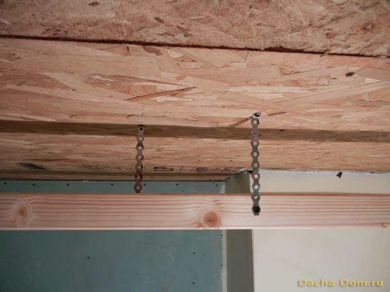 Евровагонка монтаж потолка своими руками