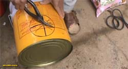 переносная печь ракета