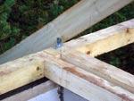 Мы предлагаем пошаговые фото строительства деревянного перекрытия и устройства стропил для дома из газобетона.
