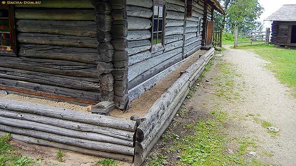 Завалинка для деревянного дома своими руками