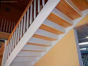 подступенки лестницы