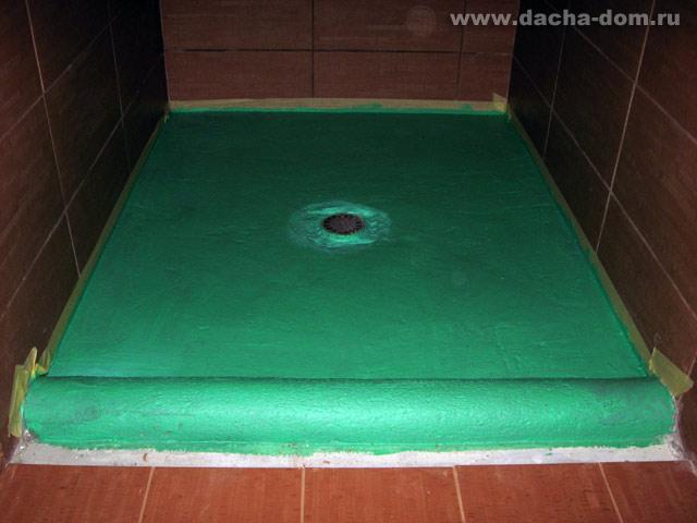 Гидроизоляция подкафельную плитку мазаику гидроизоляция пва бетона