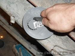 нож из диска по бетону своими руками