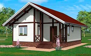 дом андрея дачника Дачник-1