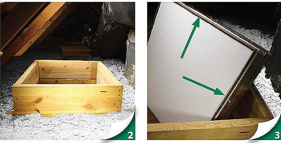 Как сделать люк в чердаке