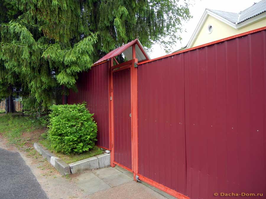 Ворота для дачи красное село как крепить ворота к плитам
