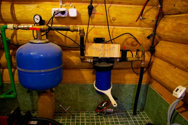 Простая схема водоснабжения