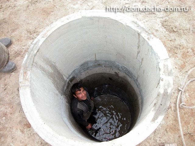 канализация своими руками.