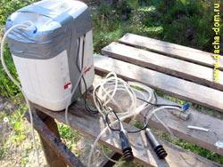 аэратор воды в колодце