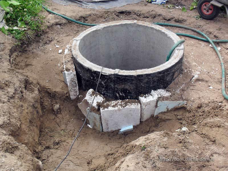 Колодец водопровода своими руками 44